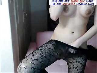 Korean bj slutty masturbation