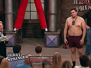 What is the name of the blonde quest jerry springer