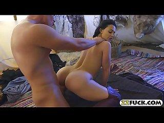Massive boobies pornstar Aletta Ocean gets pussy rimmed