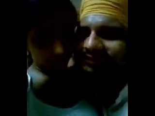 Sikh guy enjoying with his gf sunaina more offlinecams com