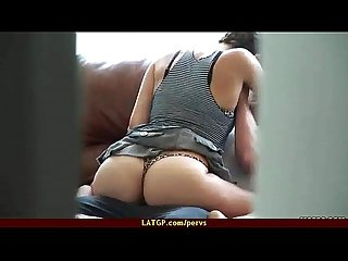 Spying on my roommate fucking his girfriend 7