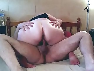 Big butt bbw milf rides cock bbwseek com