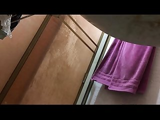 Spy mom in the shower full naked part10
