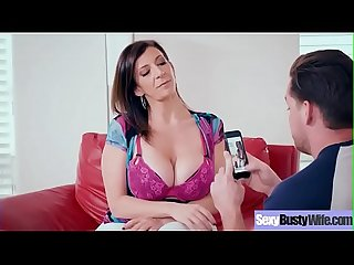 Hardcore sex tape with horny big boobs hot wife sara jay movie 22