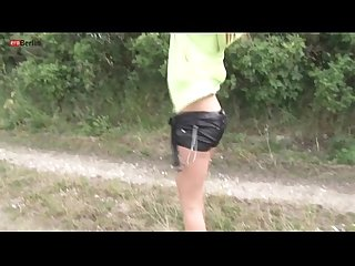 Eroberlin billy raise teen outdoor masturbation long blond hair sexy pants