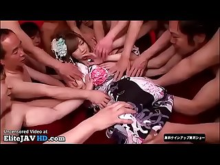 Jav orgy with bukkake on sexy teen elitejavhd com