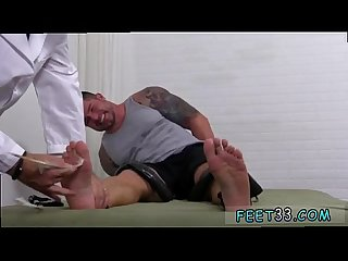 Dad showing hairy legs gay porn and cute male jocks feet clint gets