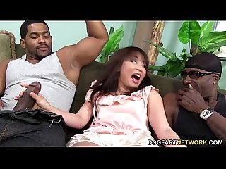 Marica hase squirts while Dp d by black cocks
