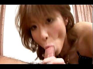 Japanese pornstar rika sakurai experienced fake creampie