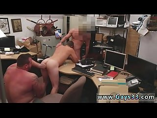 Straight guys ass guy completes up with ass fucking orgy threesome