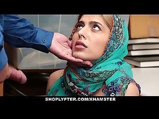 Arab hijab girl fucked hard