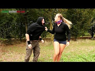 The voyeur ep1 outdoor foot worship and facesitting