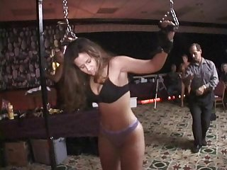 Bigbutt pawg beat by bullwhip blindfolded milf vibed in public longest edit