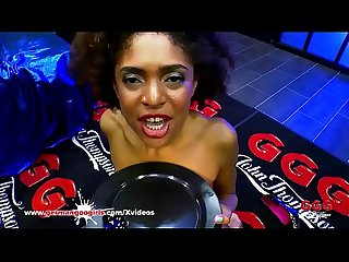 Black babe luna corazon loves sperm german goo girls