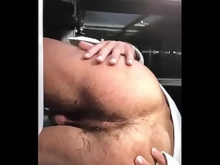 Firang Guy Showing His Bare Body, Dick and Hairy Ass