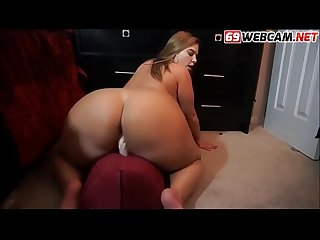 Fat Milf Riding Dildo and Spanking Cam