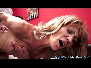 Granny toyed and fucked