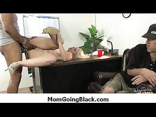 Watching my Mom going black amazing Interracial porn 26
