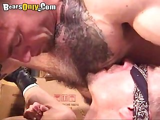 Young Hunk Finger Fucked By A Bear