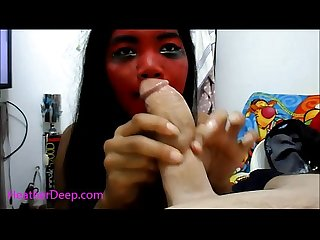 Halloween special heather deep devil vs god donny long