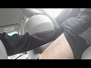 Letting the uber driver grab my cock