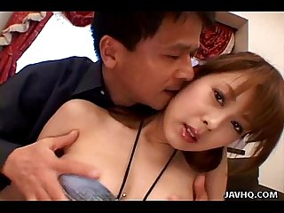 Japanese teen close up pussy licking and fucking uncensored