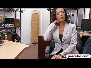 Pretty babe gets screwed by pawn keeper at the pawnshop