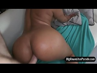 Amateur babe with big ass