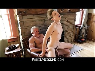 Hot Athletic Body Blonde Twink Grandson Has Sex With Hunk Grandpa