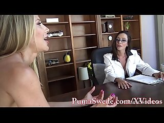 Busty babe arielle makes puma swede her sex toy