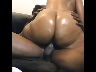 Big Ass Clapping On Black Dick POV slo-mo theNaturalCouple Deldollasxxx