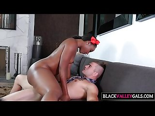Massive dark tush chanell heart gets slammed