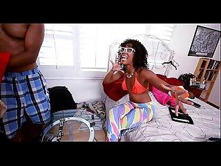 Ebon porn movie scene