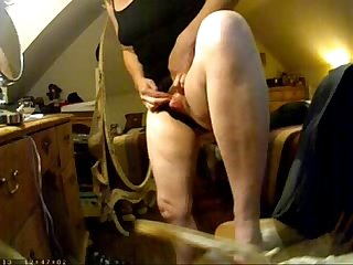 Enjoy big clit of my mom hidden cam