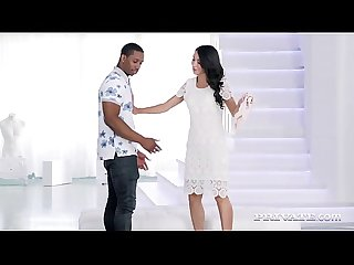 Private.com - Beauty Katrin Tequila Throat Fucks Black Cock!
