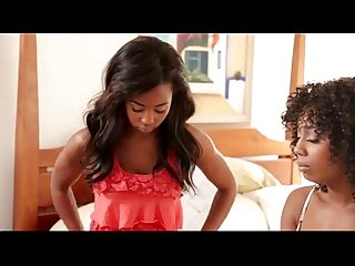 Misty Stone and Ivy Sherwood- Lesbian Beauties 11