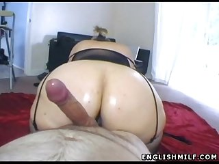 Big ass british milf pov blowjob and fuck