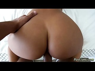 Latina ho gets humped pov