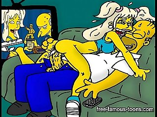 Simpsons Hentai orgy