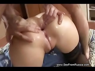 Russian Teen Demands Deep Anal