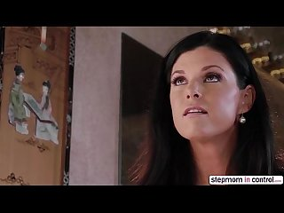 Horny stepmom india summer and sara luvv in unforgettable threesome sex