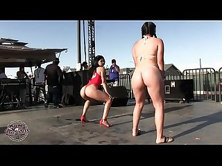 Nasty dancers in bikini latinas mexicans
