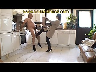Miss Charlie extreme ballbusting and CBT..
