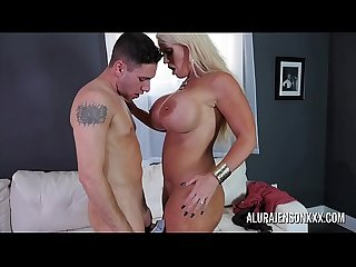 Big tit cougar Alura Jenson loves fucking younger men