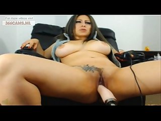 Sexy bursty girl fucked with machine on webcam more videos on 366cams ml