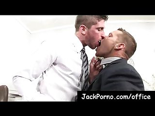 Office cock gay guys fucked in the office clip 15