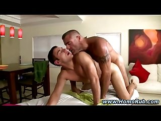 Straight guy cums after getting slammed