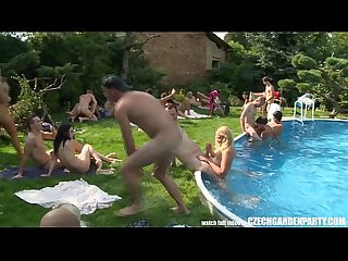 Free entrance czech open air sex party