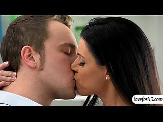 Slender milf hottie india summer enjoys passionate sex