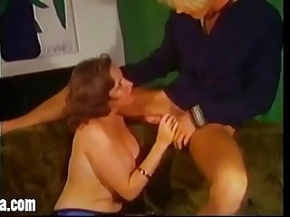 Classic stepmother and son having sex